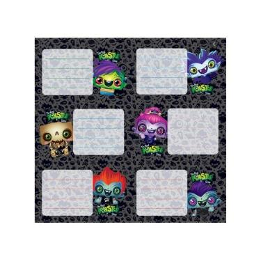 ROTULO MOOVING BLISTER THE REAL MONSTER 2 PLANCHAS DE 6