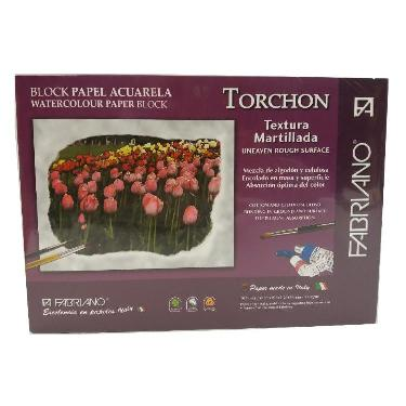 BLOCK FABRIANO TORCHON 270 GR. 10 HOJAS 24X34 CM.