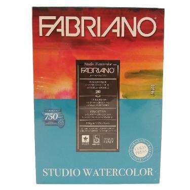 BLOCK FABRIANO WATERCOLOUR 200 GR. 20 HOJAS 23X32 CM.