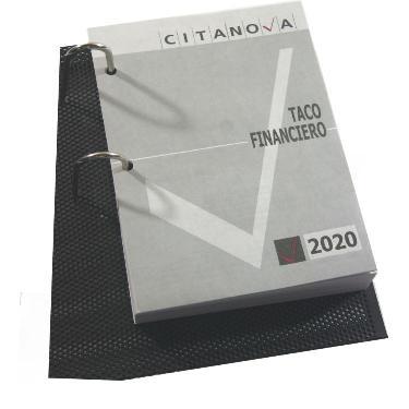 TACO CALENDARIO CITANOVA FINANCIERO 2020