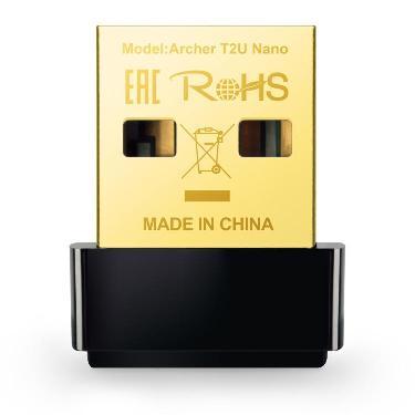 MINI WIRELESS USB ADAPTER TP-LINK AC600 ARCHER T2U