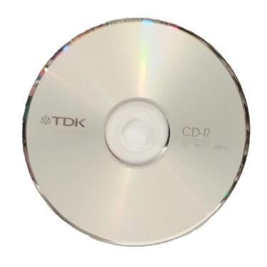CD-R TDK 700MB-80MIN-52X