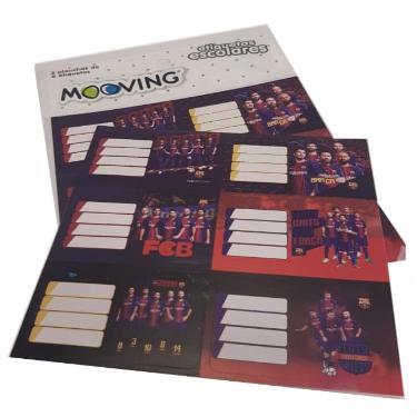 ROTULO MOOVING BLISTER BARCELONA 2 PLANCHAS DE 6