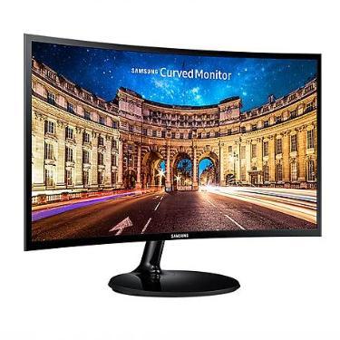 """MONITOR SAMSUNG 24"""" CURVO LED FULL HD HDMI F390"""