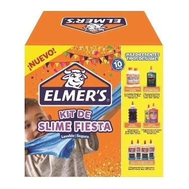 ELMERR'S KIT SLIME FIESTA 10 PIEZAS