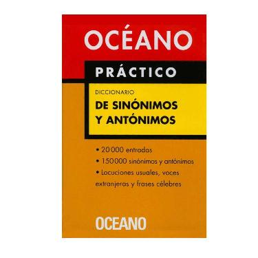 DICCIONARIO SINONIMOS Y ANTONIMOS OCEANO