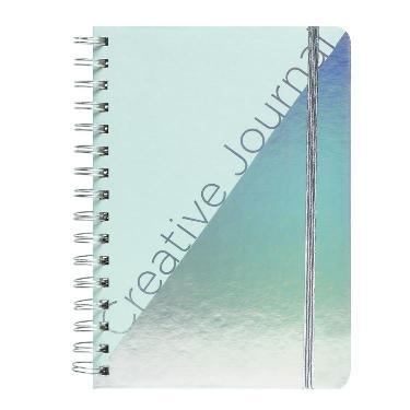 CUADERNO CON ESPIRAL MOOVING A 5 BULLET JOURNAL HOLO NOTEBOOK