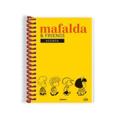 AGENDA GRANICA 2022 MAFALDA FRIENDS PERPETUA AMARILLA